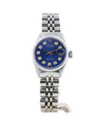 Reloj Lady DateJust 26mm Rolex de color Blue