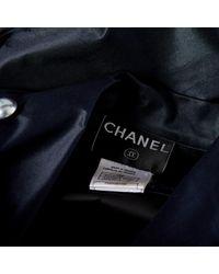 Chanel Blue Seide Mäntel