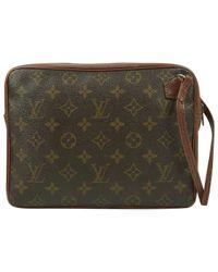 Petite maroquinerie en Toile Marron Louis Vuitton pour homme en coloris Brown