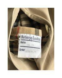 Burberry Regenjacke in Natural für Herren