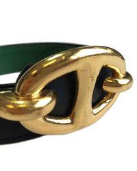 Hermès Green Leder Gürtel