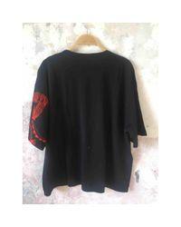 T-shirt Dries Van Noten en coloris Black