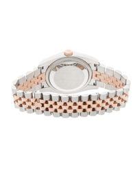 Rolex Datejust 36mm Uhren in Metallic für Herren