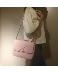 Golden Goose Deluxe Brand Pink Leather Handbag