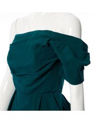 Lanvin Green Seide Kleider
