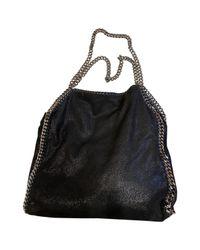 Stella McCartney Black Falabella Handtaschen