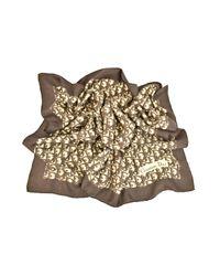 Foulard Marrone di Dior in Brown