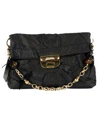 Pochette in tela nero \N di Nina Ricci in Black