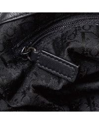Dior Black Lackleder Shopper