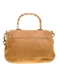 Miu Miu Brown Leder Handtaschen