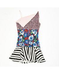 Robe \N en Soie Multicolore Dior