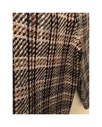 Pantaloni in lana marrone \N di Valentino in Brown