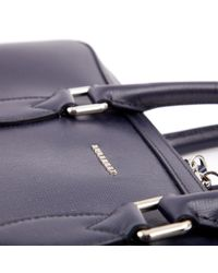 Burberry Blue Leder reisetaschen