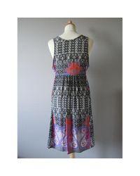 Sandro Multicolor \n Multicolour Silk Dress