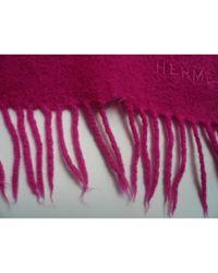 Hermès Pink Châle Kaschmir Stola