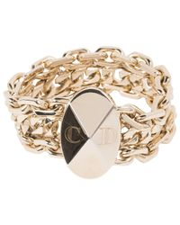 Dior Metallic Pre-owned Gold Metal Bracelets