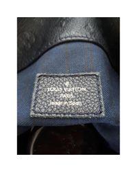 Sac à main Artsy en Cuir Marine Louis Vuitton en coloris Blue