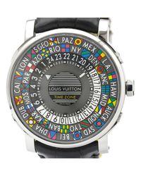 Louis Vuitton Uhren in Gray für Herren