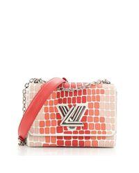 Louis Vuitton Brown Twist Leder Handtaschen
