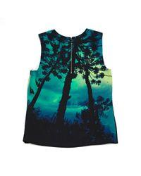 Top \N en Polyester Vert Barbara Bui en coloris Multicolor