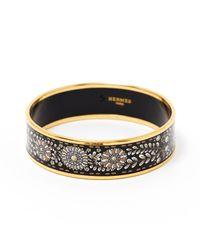 Hermès Metallic Bracelet Email Armbänder
