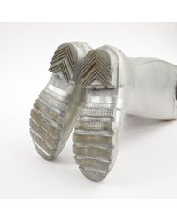 Hunter Metallic Stiefel