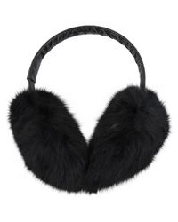 Moncler Black Kaninchen Haarschmuck