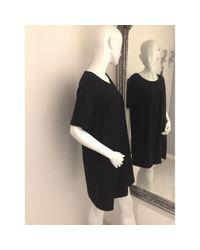 Étoile Isabel Marant Black Cotton Dress