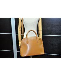 Céline Brown Leder Handtaschen