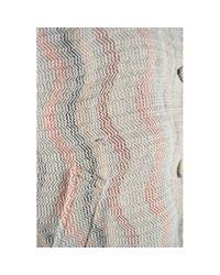 Mantel \N en Laine Gris Missoni en coloris Gray