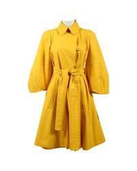 Sonia Rykiel Yellow Coat
