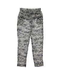 Pantalones en viscosa gris Isabel Marant de color Gray