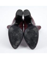 Boots \N en Cuir Dior en coloris Multicolor