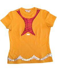 Tee shirt Dior en coloris Orange