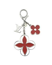 Louis Vuitton - Red Pre-owned Bag Charm - Lyst