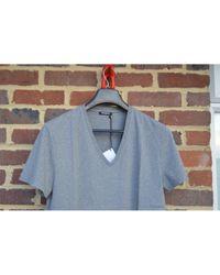 Tee shirts en Coton Gris Balmain pour homme en coloris Gray