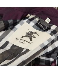 Burberry Blue Trenchs