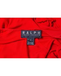 Ralph Lauren Collection Red Maxi Kleid