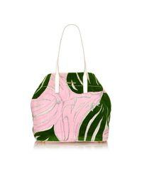 Miu Miu Green Shopper