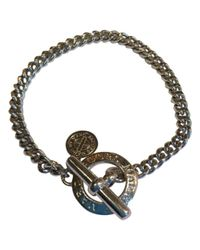 Marc By Marc Jacobs Metallic \n Silver Metal Bracelet