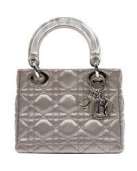 Dior Multicolor Lady Leinen Handtaschen