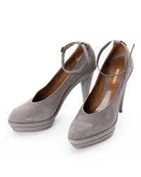 Missoni Gray \n Grey Suede Heels