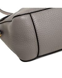 Mulberry Gray Leder Handtaschen