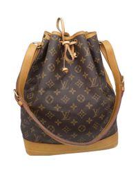 Louis Vuitton Multicolor Noé Leinen Handtaschen