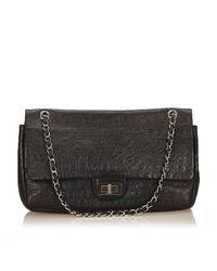 Chanel Black Leder Handtaschen