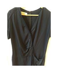 Marni Black Midi kleid