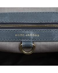 Marc Jacobs Gray Stam Leder Handtaschen