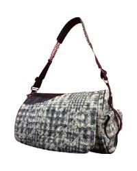 Chanel Multicolor Leinen Handtaschen
