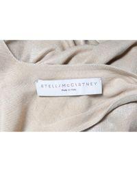 Stella McCartney Metallic Midi Kleid