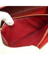 Louis Vuitton Red Lackleder Portemonnaies